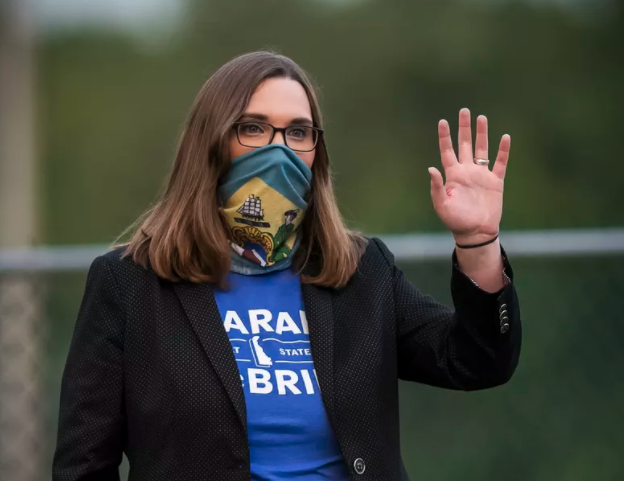 Sarah McBride becomes the first openly trans person elected to a state Senate seat