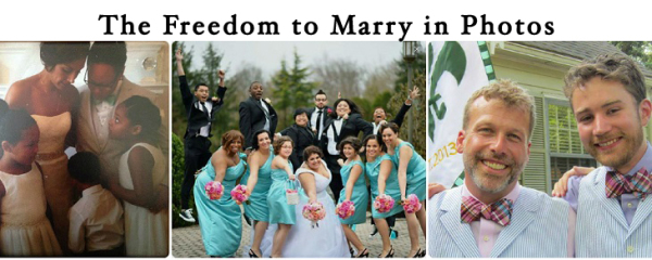 freedom to marry in pics