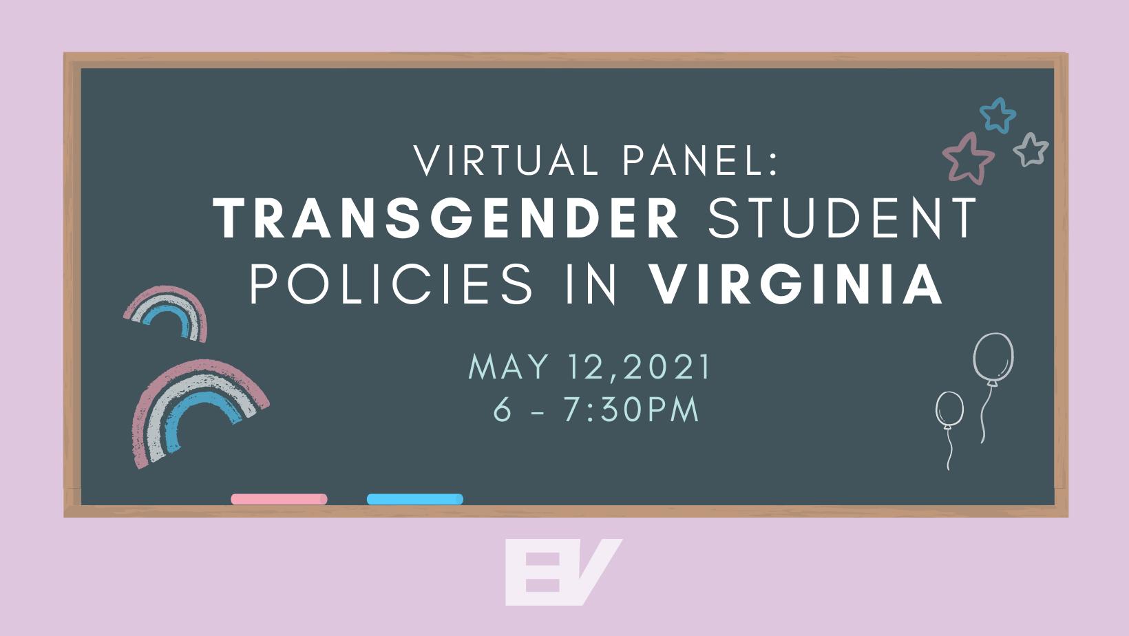 Virtual Panel: Transgender Student Policies in Virginia
